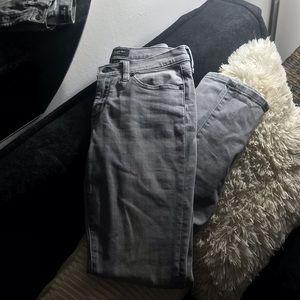 Banana republic grey wash jeans